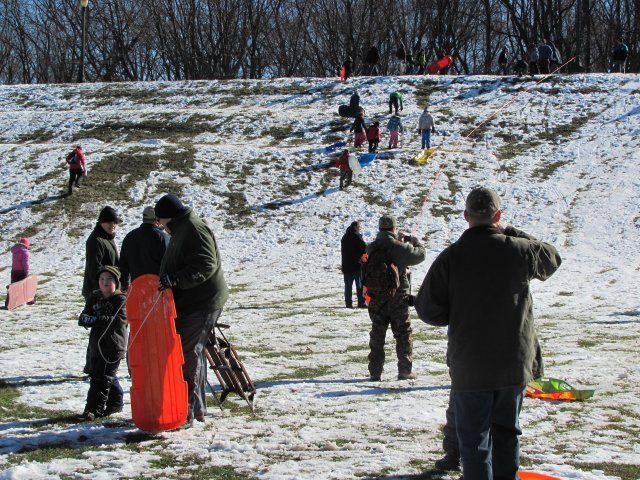 0301 Winter Fun Day 2013 Sledding